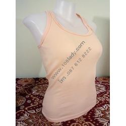 SY001 เสื้อกล้าม ต้องสั่งสีละ 5ตัวขึ้นไป และจะจัดส่ง ให้ต้องซื้อรวมกันแต่ละครั้ง 50 ตัวขึ้น(คละสี คละลายได้)